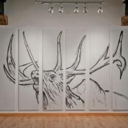 Ed Anderson bugling elk