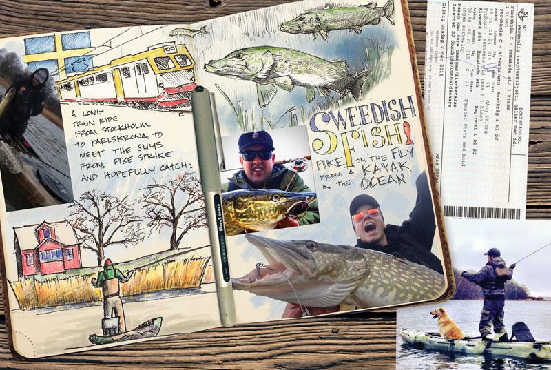pike fishing sweden